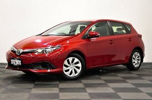 2015 Toyota Corolla ZRE182R Ascent S-CVT Red 7 Speed Constant Variable Hatchback Edgewater Joondalup Area Preview