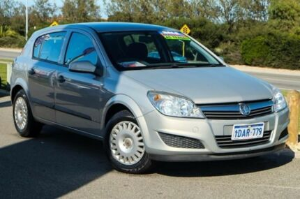 2008 Holden Astra AH MY08 CD Star Silver 5 Speed Manual Hatchback Mindarie Wanneroo Area Preview