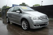 2008 Mercedes-Benz B200 245 07 Upgrade Turbo Silver Continuous Variable Hatchback Upper Ferntree Gully Knox Area Preview