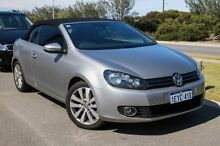 2013 Volkswagen Golf VI MY14 118TSI DSG Silver 7 Speed Sports Automatic Dual Clutch Cabriolet Mindarie Wanneroo Area Preview