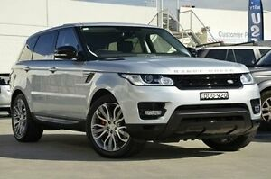 2015 Land Rover Range Rover Sport L494 15.5MY Silver 8 Speed Sports Automatic Wagon Brookvale Manly Area Preview