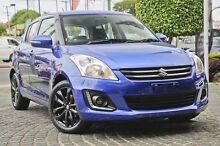 2015 Suzuki Swift FZ MY14 GLX SE Boost Blue 4 Speed Automatic Hatchback Mount Gravatt Brisbane South East Preview