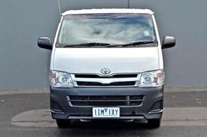 2011 Toyota Hiace White Manual Van Cranbourne Casey Area Preview