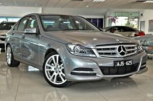 2012 Mercedes-Benz C250 W204 MY12 BlueEFFICIENCY 7G-Tronic + Avantgarde Silver 7 Speed Dandenong Greater Dandenong Preview
