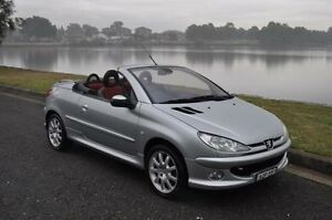 2004 Peugeot 206 CC Silver 5 Speed Manual Cabriolet Croydon Burwood Area Preview