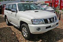 2013 Nissan Patrol Y61 GU 9 ST White 4 Speed Automatic Wagon Aspley Brisbane North East Preview
