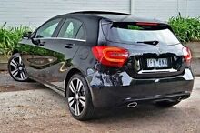 2015 Mercedes-Benz A200 CDI  Black Sports Automatic Dual Clutch Hatchback Burwood Whitehorse Area Preview