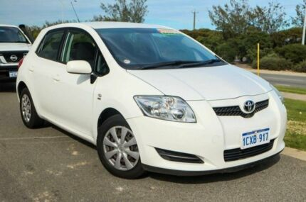 2008 Toyota Corolla ZRE152R Ascent Glacier White 4 Speed Automatic Hatchback Mindarie Wanneroo Area Preview