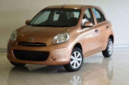 2011 Nissan Micra K13 ST Bronze 4 Speed Automatic Hatchback Southport Gold Coast City Preview