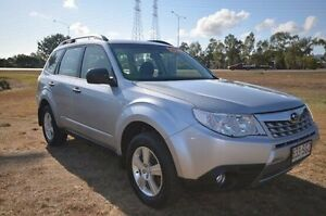 2012 Subaru Forester S3 MY12 X AWD Silver 4 Speed Sports Automatic Wagon Vincent Townsville City Preview