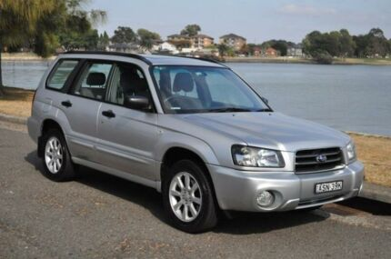 2004 Subaru Forester MY04 XS Luxury Silver 5 Speed Manual Wagon