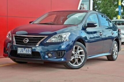 2016 Nissan Pulsar B17 Series 2 SSS Blue 1 Speed Constant Variable Sedan
