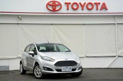 2014 Ford Fiesta WZ Trend PwrShift Silver 6 Speed Sports Automatic Dual Clutch Hatchback Upper Ferntree Gully Knox Area Preview