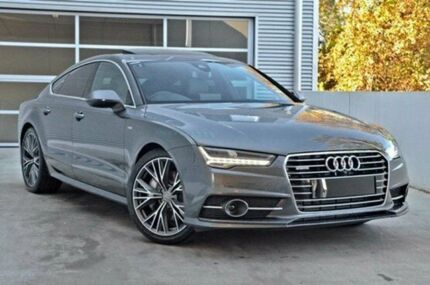 2015 Audi A7 4G MY15 Grey 8 Speed Auto Seq Sportshift Hatchback Berwick Casey Area Preview
