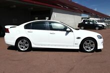 2008 Holden Commodore VE MY09 SV6 Heron White 5 Speed Sports Automatic Sedan Northbridge Perth City Preview