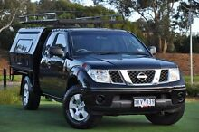 2009 Nissan Navara D40 RX King Cab Black 5 Speed Automatic Cab Chassis Knoxfield Knox Area Preview