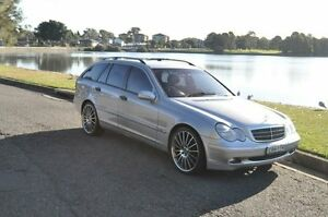 2003 Mercedes-Benz C200 W203 Kompressor Classic Silver 5 Speed Auto Tipshift Wagon Croydon Burwood Area Preview