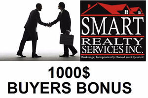 1000$ BONUS! Buy your dream home with me (LICENSED REALTOR)