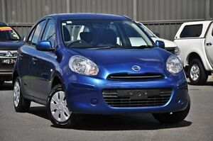 2014 Nissan Micra K13 MY13 ST Berlin Blue 4 Speed Automatic Hatchback Knoxfield Knox Area Preview