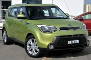 2015 Kia Soul PS MY15 SI Green 6 Speed Sports Automatic Hatchback Gosford Gosford Area Preview
