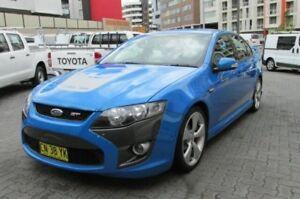 2008 FPV GT FG Blue 6 Speed Auto Seq Sportshift Sedan