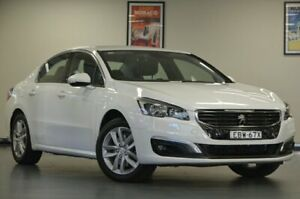 2014 Peugeot 508 MY15 Active e-THP White Semi Auto Sedan Chatswood Willoughby Area Preview