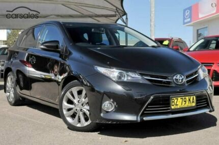 2014 Toyota Corolla ZRE182R Levin S-CVT ZR Black 7 Speed Constant Variable Hatchback