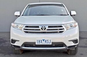 2013 Toyota Kluger White Sports Automatic Wagon Cranbourne Casey Area Preview