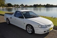 2002 Holden Commodore VY S White 4 Speed Automatic Utility Croydon Burwood Area Preview