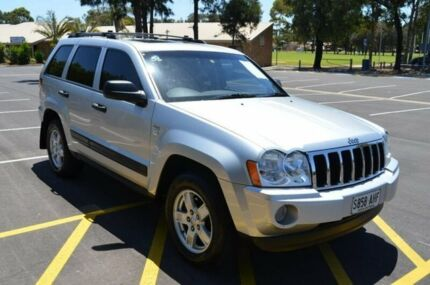 2007 Jeep Grand Cherokee WH MY2007 Laredo Silver 5 Speed Automatic Wagon
