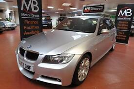 2007 BMW 3 SERIES 318i M SPORT Auto Alcantara Sport Seats AUX