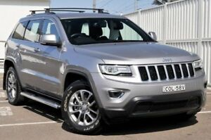 2013 Jeep Grand Cherokee WK MY2014 Laredo Silver 8 Speed Sports Automatic Wagon Gosford Gosford Area Preview