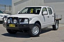 2012 Nissan Navara D40 S6 MY12 RX White 6 Speed Manual Cab Chassis Cranbourne Casey Area Preview