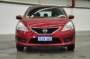 2015 Nissan Pulsar C12 Series 2 ST Red 1 Speed Constant Variable Hatchback Thornlie Gosnells Area Preview