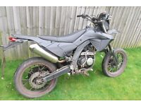 APOLLO RX50 MOTORCYCLE ROAD LEGAL PIT BIKE STYLE