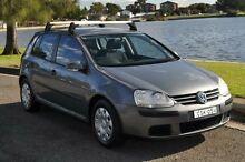 2006 Volkswagen Golf 1K 1.6 Trendline Grey 5 Speed Manual Hatchback Croydon Burwood Area Preview