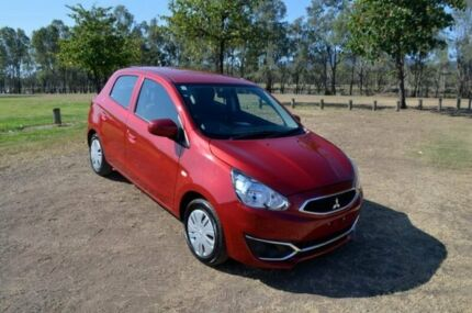 2016 Mitsubishi Mirage LA MY16 ES 1 Speed Constant Variable Hatchback Rockhampton Rockhampton City Preview