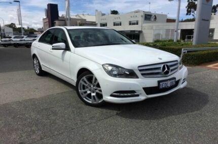 2013 Mercedes-Benz C250 CDI W204 MY13 Avantgarde 7G-Tronic + Polar White/alpaca Grey 7 Speed Auto Se Nedlands Nedlands Area Preview