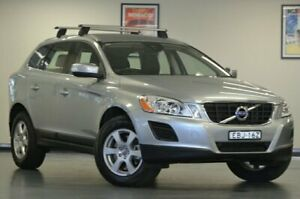2012 Volvo XC60 DZ MY13 T5 Silver Semi Auto Wagon Chatswood Willoughby Area Preview