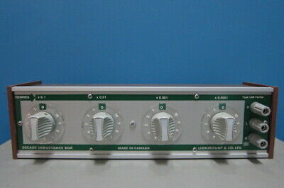Guildline Lionmount Ld8 Decade Inductance Box 100uh-1.111h 4 Decades