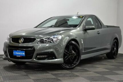 2013 Holden Ute VF MY14 SS Ute Grey 6 Speed Manual Utility