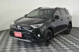 2016 Toyota RAV4 ZSA42R GXL 2WD Black 7 Speed Constant Variable Wagon Arndell Park Blacktown Area Preview