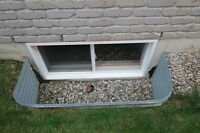 Extra Large Galvanized Window Well