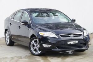 2012 Ford Mondeo MC Zetec PwrShift TDCi Black 6 Speed Sports Automatic Dual Clutch Hatchback Blacktown Blacktown Area Preview