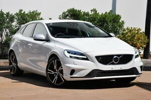 2016 Volvo V40 M Series T5 R-Design Ice White 8 Speed Automatic Hatchback Mount Gravatt Brisbane South East Preview