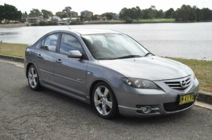 2004 Mazda 3 BK SP23 Grey 5 Speed Manual Sedan