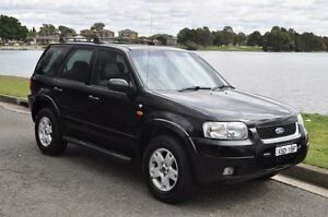 2003 Ford Escape BA Limited Black 4 Speed Automatic Wagon Croydon Burwood Area Preview