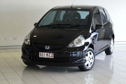 2007 Honda Jazz GD MY06 GLI Black 5 Speed Manual Hatchback Southport Gold Coast City Preview