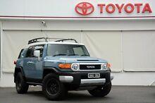2014 Toyota FJ Cruiser GSJ15R MY14 Retro Blue 5 Speed Automatic Wagon Upper Ferntree Gully Knox Area Preview