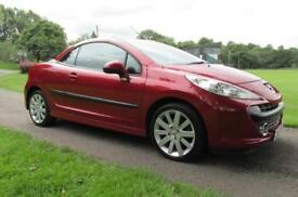 2007 (57) Peugeot 207 CC 1.6HDi 110 FAP Coupe GT